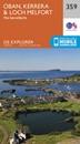 Oban, Kerrera & Loch Melfort - The Garvellachs OS Explorer Map 359 (paper)