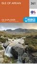 Isle of Arran OS Explorer Map 361 (paper)