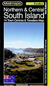 South Island - Northern & Central Kiwimaps