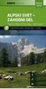 Julian Alps West Kartografija Tourist Map