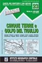 Cinque Terre - Golfo del Tigullio: La Spezia - Sestri Levante - Rapallo - Genoa 50K IGC Map No. 23