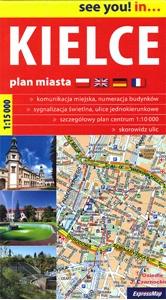 Kielce Street Plan