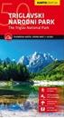 Triglav National Park Kartografija WATERPROOF Hiking Map