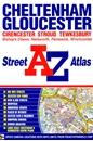 Cheltenham - Gloucester - Cirencester - Stroud - Tewksbury A-Z Street Atlas