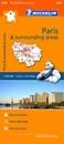 Paris & Surrounding Areas Michelin Regional 514