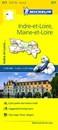 Indre-et-Loire - Maine-et-Loire Michelin Local 317
