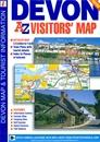 Devon A-Z Visitors' Map