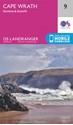 Cape-Wrath-Durness-Scourie-OS-Landgranger-Map-9-paper_9780319261071