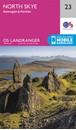 North Skye: Dunvegan & Portree OS Landranger Map 23