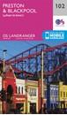 Preston, Blackpool & Lytham St Anne's OS Landranger Map 102 (paper)