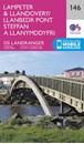 Lampeter & Llandovery OS Landranger Map 146 (paper)