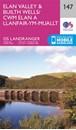 Elan Valley & Builth Wells OS Landranger Map 147 (paper)