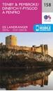 Tenby & Pembroke OS Landranger Map 158 (paper)