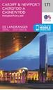 Cardiff, Newport & Pontypool OS Landranger Map 171 (paper)