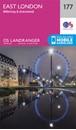 London East, Billericay & Gravesend OS Landranger Map 177 (paper)