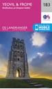 Yeovil, Frome, Shaftesbury & Shepton Mallet OS Landranger Map 183 (paper)