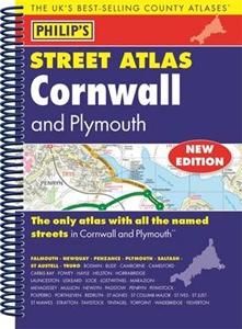 Cornwall Philip's Street Atlas