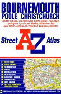 Bournemouth - Poole - Christchurch A-Z Street Atlas