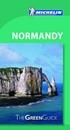 Normandy Michelin Green Guide