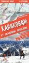 Karakoram - K2 - Gasherbrum - Broad Peak terraQuest Trekking Map