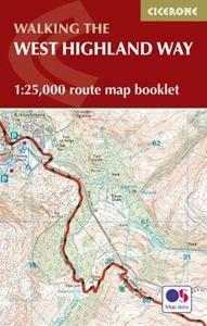 West Highland Way Cicerone Map Booklet