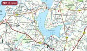 Denmark F&B Top 10 Tips 2-Map Set