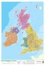 United Kingdom & Ireland Schofield & Sims Wall Map