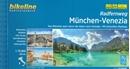 Munich - Innsbruck - Venice Cycle Route (600km) Bikeline Map/Guide