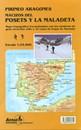 Posets and la Maladeta Massifs Adrados Map