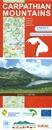 Carpathian Mountains (AT/CZ/SK/PL/UA/HU/RO) Huber Map