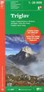 Triglav Slovenian Alpine Club 25K Map