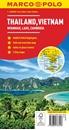 Thailand - Vietnam - Myanmar / Burma - Cambodia - Laos Marco Polo Map