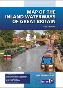 Great Britain: Inland Waterways Map