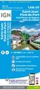 Saint-Jean-Pied-de-Port - Saint-Etienne-de-Baigorry - Vallee des Aldudes IGN 1346OT