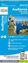 Audierne - Ponte du Raz - Ile de Sein IGN TOP25 Map 0419ET