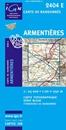 Armentieres IGN 2404E - WWI Battlefields - Armentières - Aubers Ridge - Ploegsteert