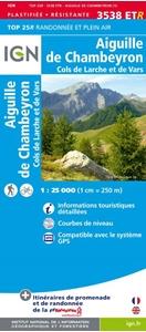 Aiguille de Chambeyron - Cols de Larche et de Vars IGN WATERPROOF 3538ETR