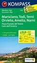 Marsciano - Todi - Terni - Orvieto - Amelia - Narni Kompass 2472