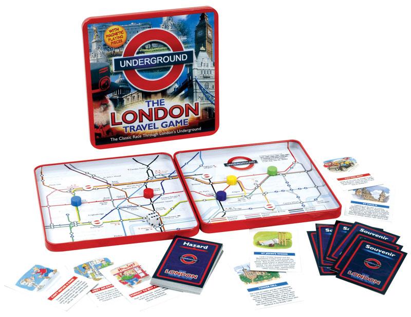 The London Underground Travel Game | Stanfords