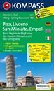 Pisa - Livorno - San Miniato - Empoli Kompass 2457