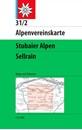 Stubai Alps - Sellrain Alpenverein KOMBI Map 31/2