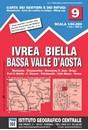 Ivrea - Biela - Lower Aosta Valley 50K IGC Map No. 9