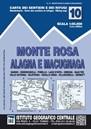 Monte Rosa - Alagna - Macugnaga 50K IGC Map No. 10