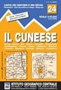 Il Cuneese: Cuneo - Saluzzo - Carmagnola 75K IGC Map No. 24