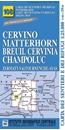 Matterhorn/M. Cervino - Breuil Cervinia - Champoluc 25K IGC Map No. 108