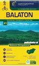 Lake Balaton Cartographia Tourist Map 4