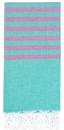 Clara Hamam Towel - Jade / Amethyst