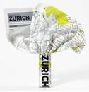 Zurich Crumpled City Map