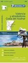 Valencia and Surrounding Area - Costa del Azahar Michelin Zoom 149