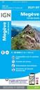 Megeve - Col des Aravis IGN 3531OT